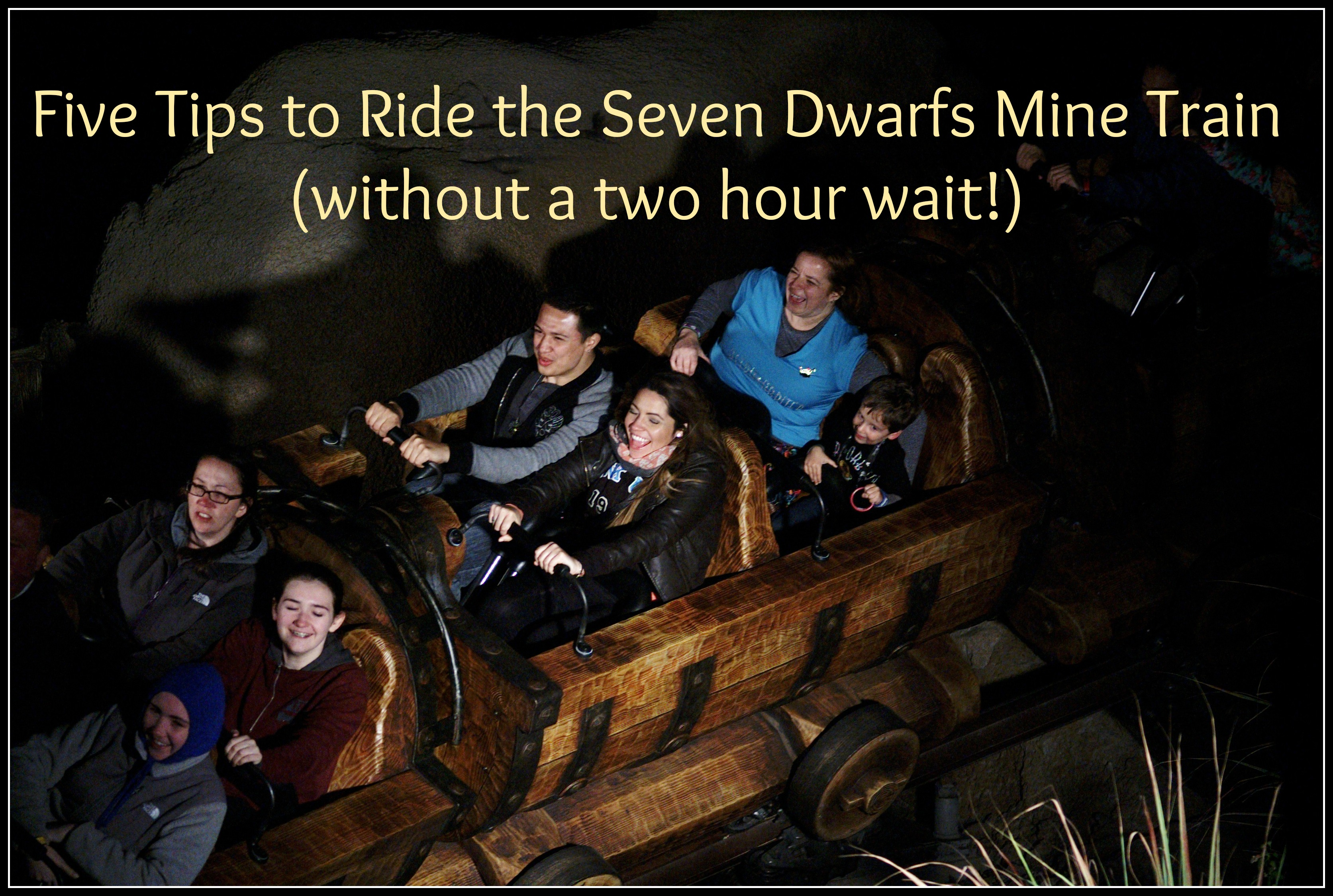 How to Ride The Seven Dwarfs Mine Train (without a two hour