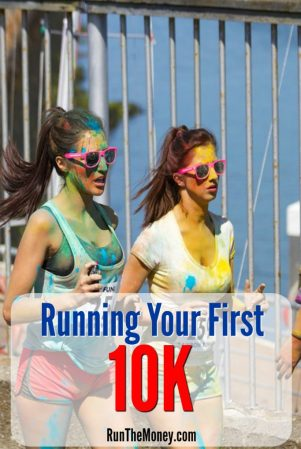 running your first 10k - run the money