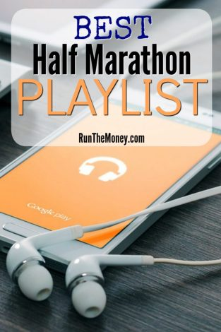 best half marathon playlist run the money