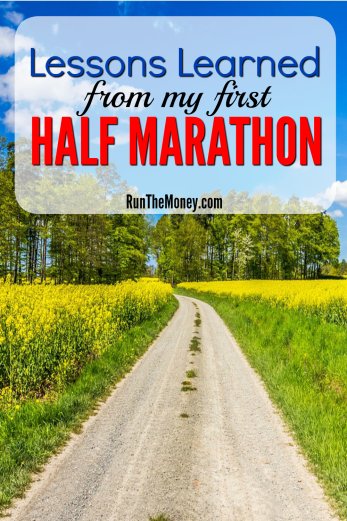 lessons from my first half marathon