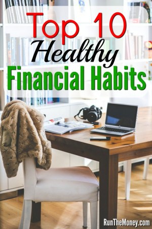 healthy financial habits