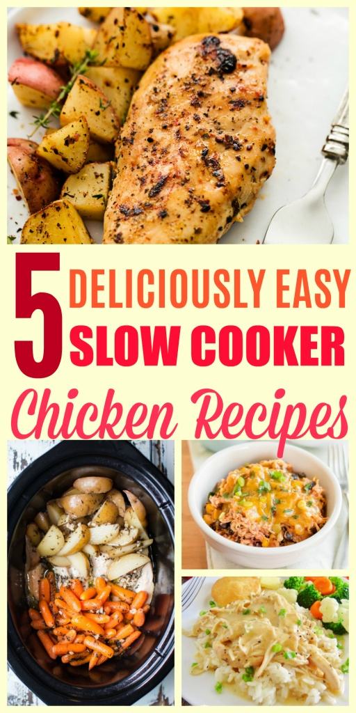 Deliciously Easy Slow Cooker Chicken Recipes