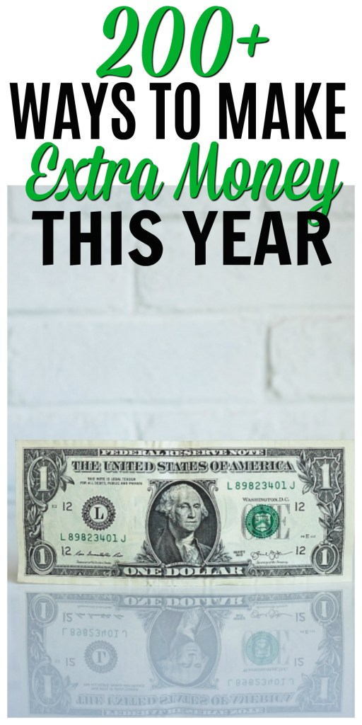 Make extra money this year