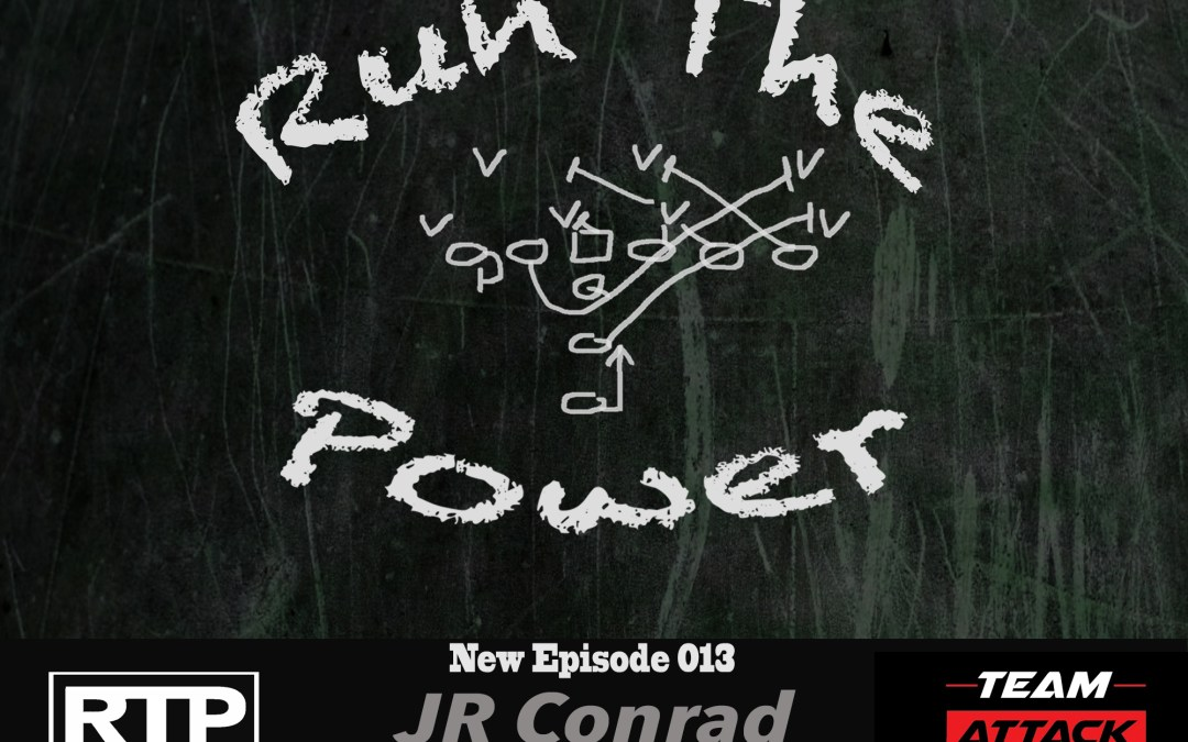 """JR Conrad – Playing for Bill Parcells & Starting as a True Freshman at Oklahoma EP 013"" Run The Power : A Football Coach's Podcast"