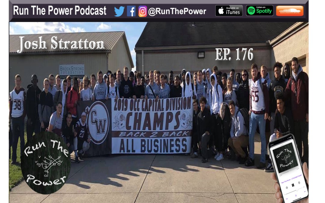 """Josh Stratton – All Things Buck Sweep Ep. 176"" Run The Power : A Football Coach's Podcast"
