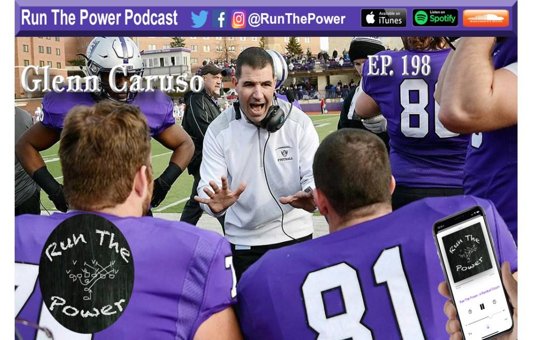 """""""Glenn Caruso – F.A.M.I.L.Y. at St. Thomas Ep. 198"""" Run The Power : A Football Coach's Podcast"""