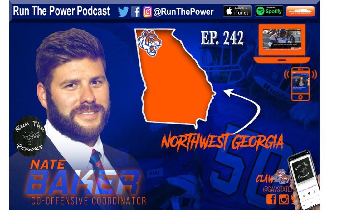 """Nate Baker – Inside Zone & Power Ep. 242"" Run The Power : A Football Coach's Podcast"