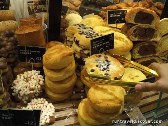 4 Day Hong Kong Trip - Blueberry Cream Cheese Brioche