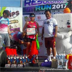 Resolution Run 2017 - Awarding