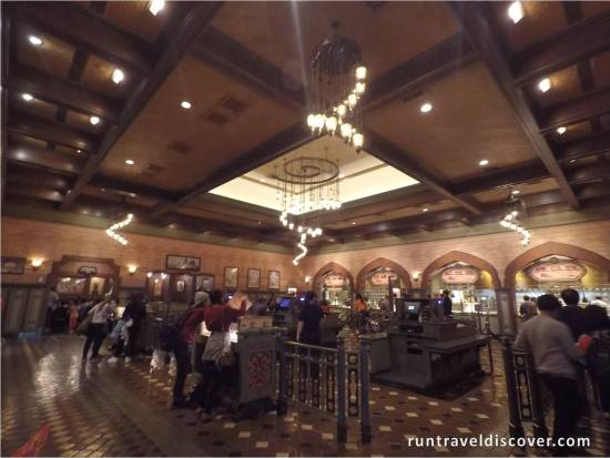 Hong Kong Disneyland Explorer's Club Interior