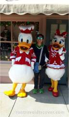 Hong Kong Disneyland - Donald Duck