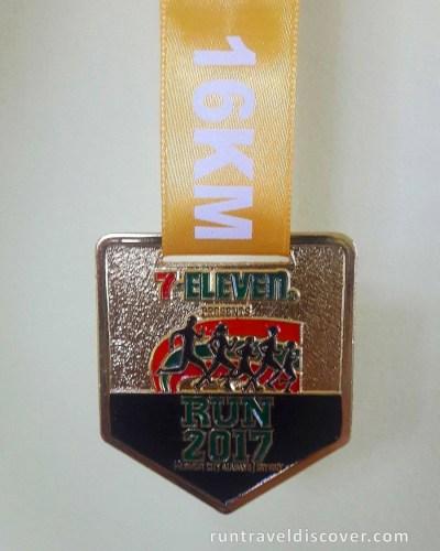 7-Eleven Run 2017 - Medal