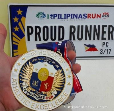 Pilipinas Run 2017 - Medal