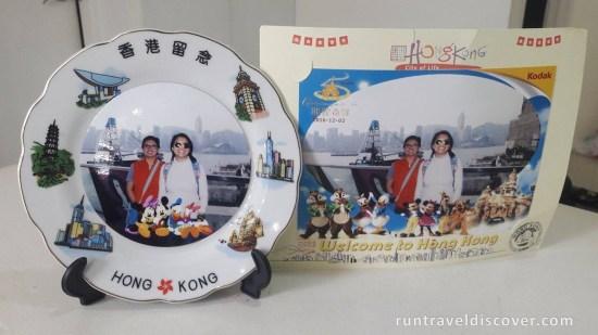 Hong Kong City Tour - Plate Souvenir