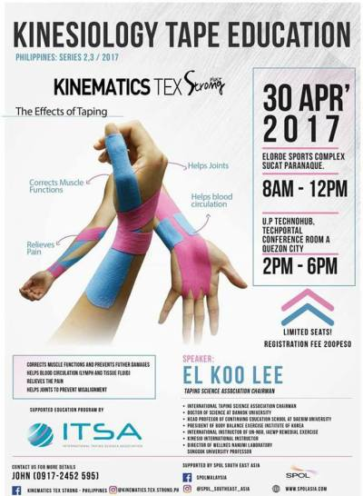 Kinesiology Taping Workshop