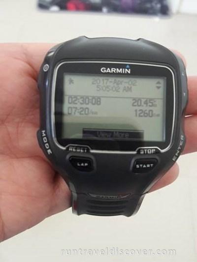 Alaxan Unstoppable Runner - Garmin Finish Record