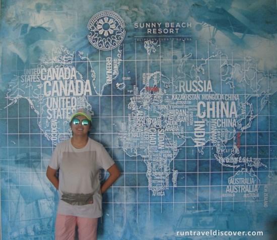 Puerto Galera - Lobby Mural