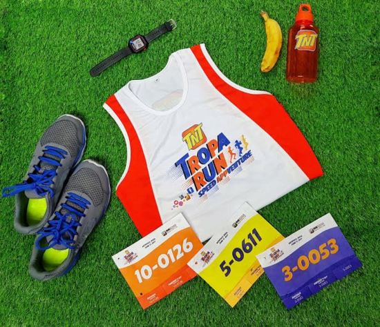 TNT Tropa Run Race Kit Giveaway