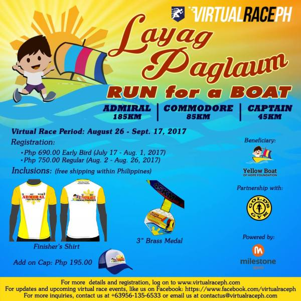 Layag Paglaum - Race Details