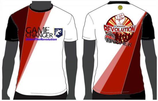 VirtualRacePH Revolution - Finisher Shirt