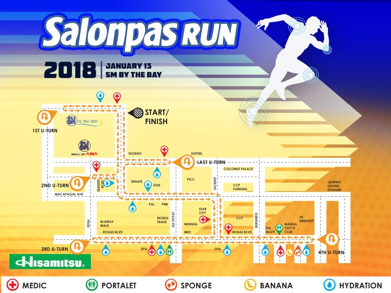 Salonpas Run 2018 - 21K Route