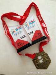 Kasama Run 2018 - Medals and Plaque