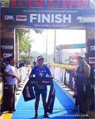 TriFactor National Duathlon Championships 2019 - Finish Line