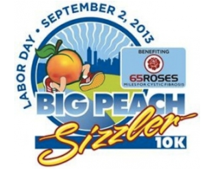Big Peach Sizzler 10k Race Report