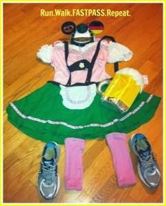 My Wine and Dine Half Marathon Race Costume