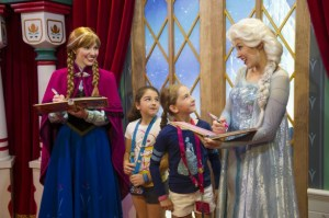 Meet and Greet Anna and Elsa from Frozen at WALT DISNEY WORLD Moving to Magic Kingdom