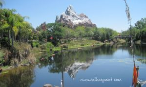 Wordless Wednesday Disney May Calendar Shot: Everest