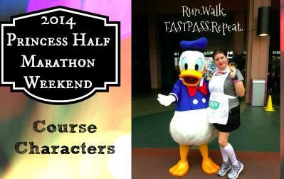 2014 Princess Half Course Characters