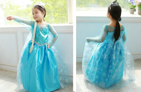 GroopDealz Elsa Costume: $21.99 They Have Anna too!
