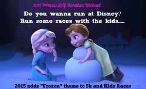 Princess Half Marathon adds Frozen Theme and Castaway Cay Challenge