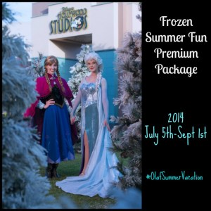 Frozen Summer Fun Premium Package Added at Disneys Hollywood Studios