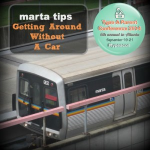 Getting Around the ATL and Buckhead  on Marta