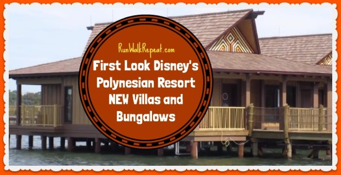 First Look Polynesian Villas and Bungalows