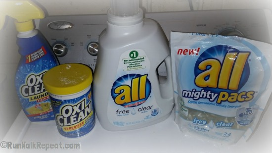 Yes, all free and clear is great on its own, but sometimes I need an Oxi Clean Boost.