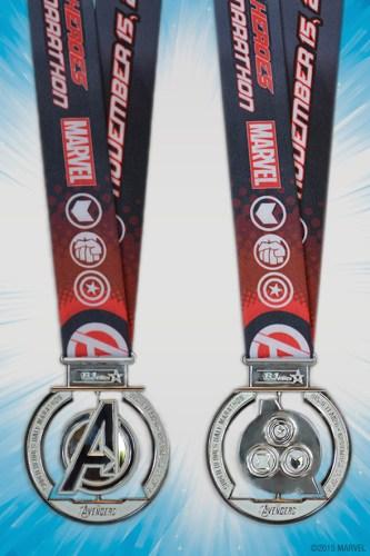 Avengers Half Medal 2015
