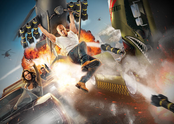 Fast and Furious Ride to Open at Universal Orlando 2017