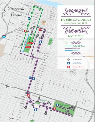 sAV course map