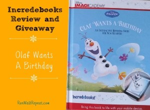 Read to Your Kids a Whole New Way with Incredebooks  and Disney Imagicademy Review and Giveaway