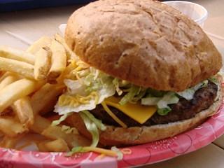 Cheeseburger Walt Disney  World Style