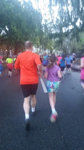 Savannah Womens races are for girls of all ages...and their dads too!