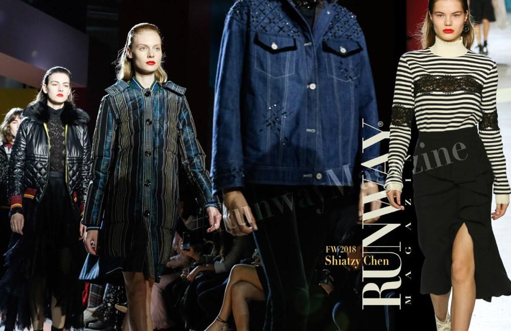 Shiatzy  Chen Fall Winter 2018-2019 by Runway Magazine Paris Fashion Week