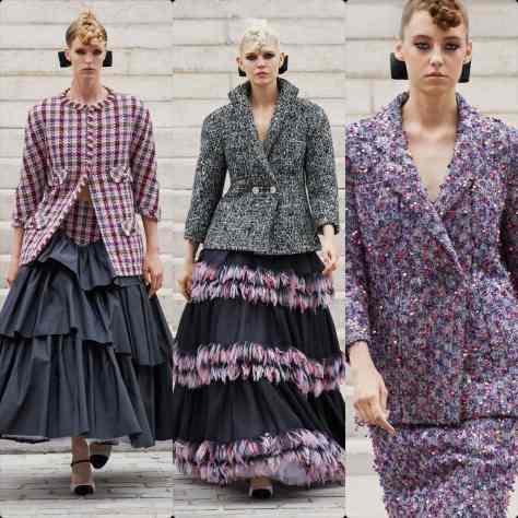 Chanel Haute Couture Otoño Invierno 2021-2022 por RUNWAY REVISTA
