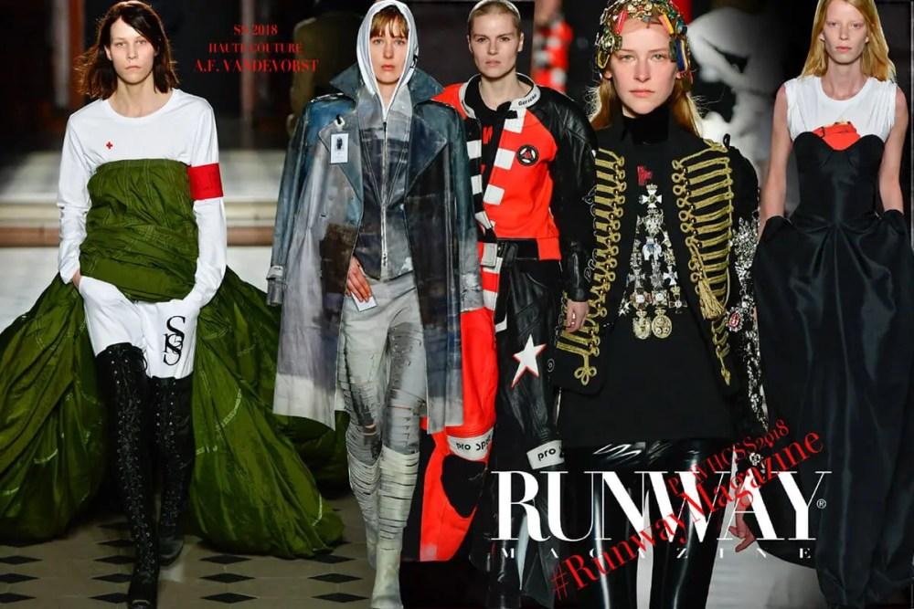 A.F. VANDEVORST Haute Couture Spring Summer 2018 by Runway Magazine