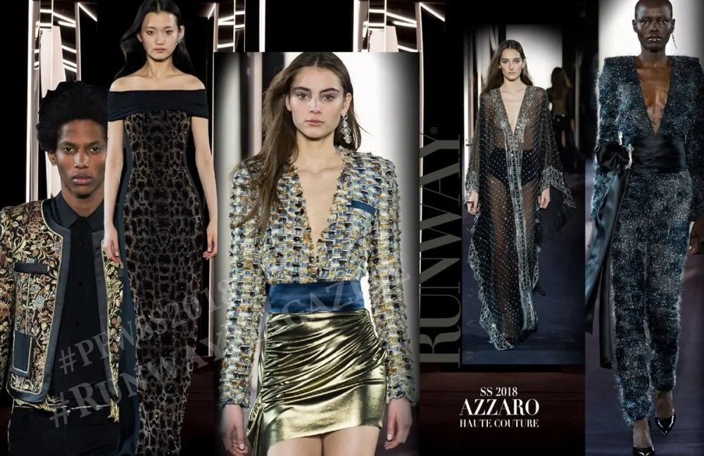 AZZARO Haute Couture Spring Summer 2018 by Runway Magazine
