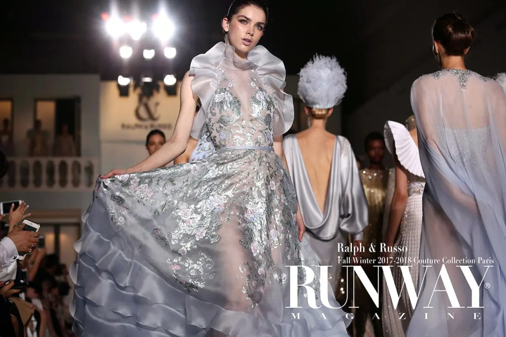 RALPH & RUSSO Fall Winter 2017-2018 by Runway Magazine