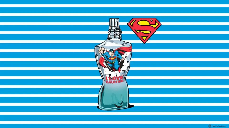 Jean-Paul-Gaultier-Runway-Magazine-comic-super-man-commercial
